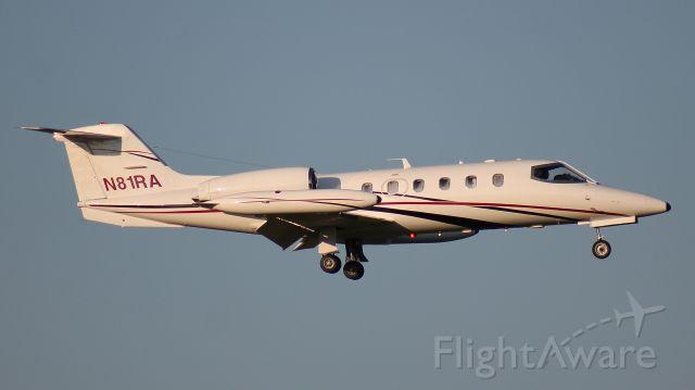 Learjet 35 (N81RA) - RAX555 landing runway 18 on July 12th, 2020.
