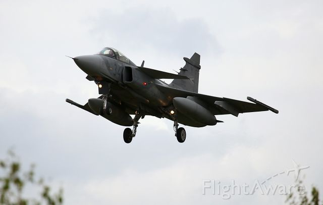 Saab JAS39 Gripen (HUAF34) - HUNGARIAN AIR FORCE