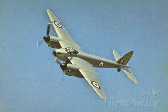 De Havilland Mosquito (N35MK) - scanned from postcard