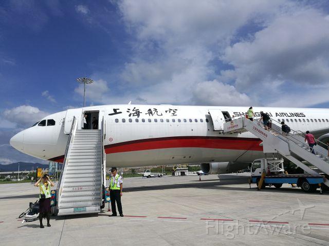 Airbus A330-300 (B-6127) - A big ship at Sanya