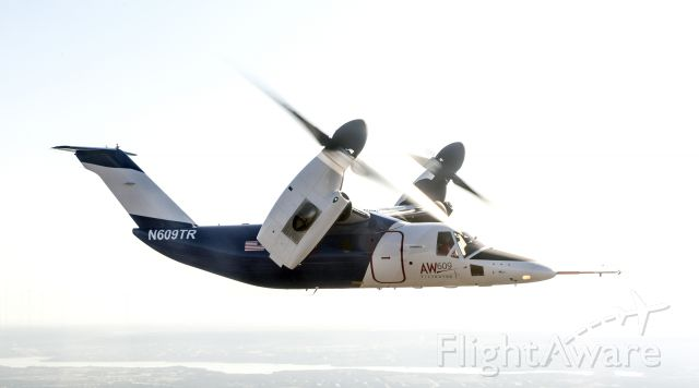 N609TR — - AW609 returning to KGKY with new colors