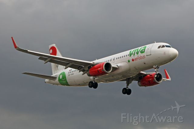 Airbus A320 (XA-VAU) - Viva Aerobus / Airbus A320-232 - MSN 7153 / XA-VAU / MMMX 06/2019