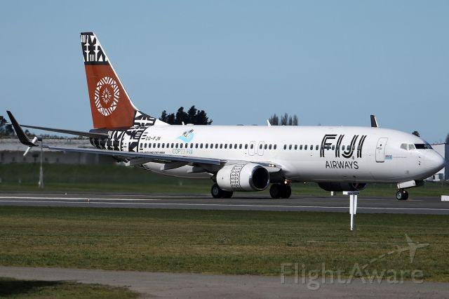 Boeing 737-800 (DQ-FJN) - on 27 September 2018