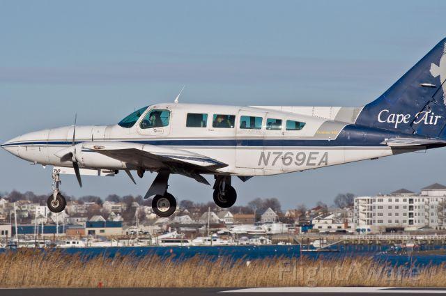 Cessna 402 (N769EA) - Cape Fear ?