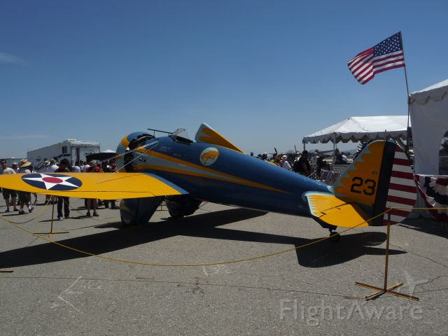 N3378G — - P-26 at Planes of Fame Air Show 2014
