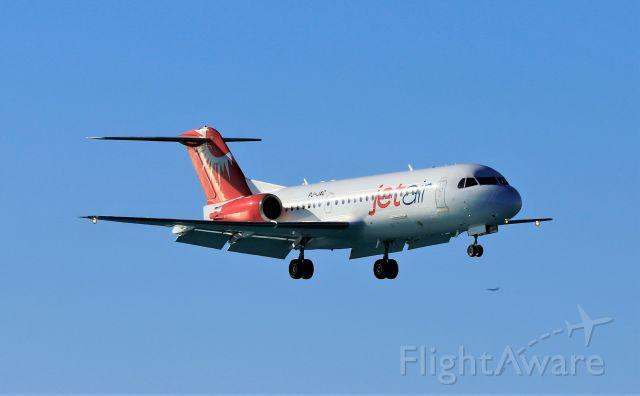 Fokker 70 (PJ-JAC)