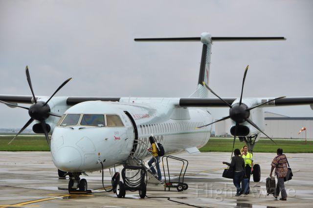 de Havilland Dash 8-400 (C-GGFP) - Jazz Air De Havilland Canada DHC-8-402Q Dash 8 C-GGFP in Windsor