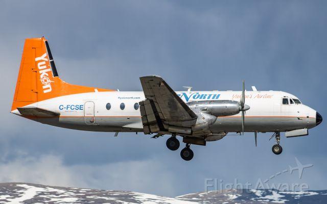 Hawker Siddeley HS-748 (C-FCSE)