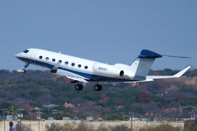 Gulfstream Aerospace Gulfstream G650 (N6453) - 30L departure.