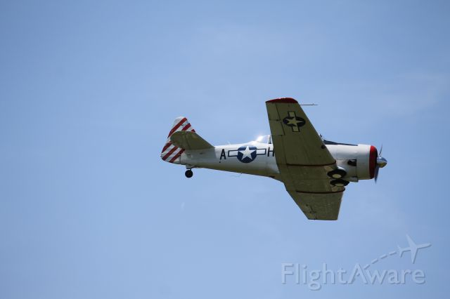 North American T-6 Texan (N87H) - Flyby with the T6