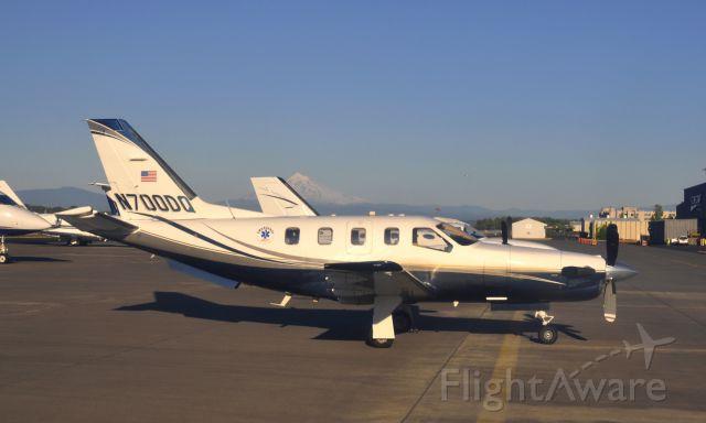Socata TBM-700 (N700DQ) - Moro Aircraft Leasing Inc Socata TBM-700 N700DQ in Portland, Oregon