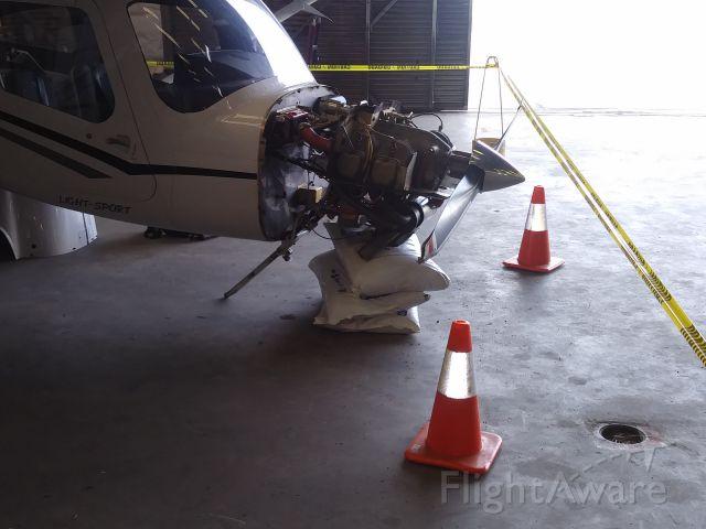 Cessna Skycatcher (N6020Y) - Hard landing