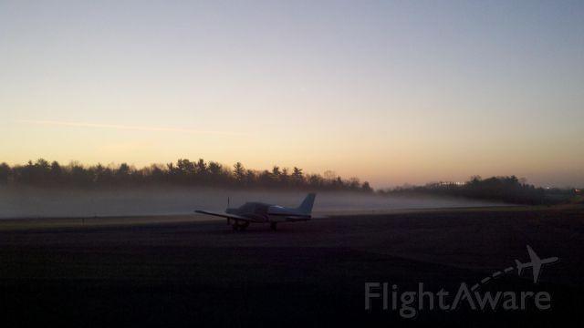 — — - looking NE @ 20N morning ground fog rolls in