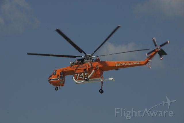 N158AC — - The Skycrane flying it