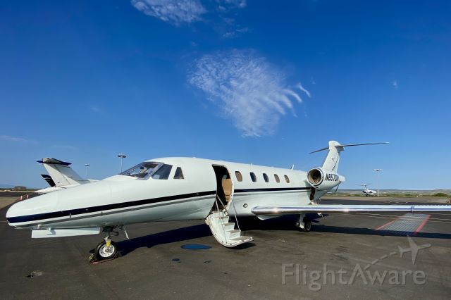 Cessna Citation III (N857DN) - My new ride. Yes it is light blue!