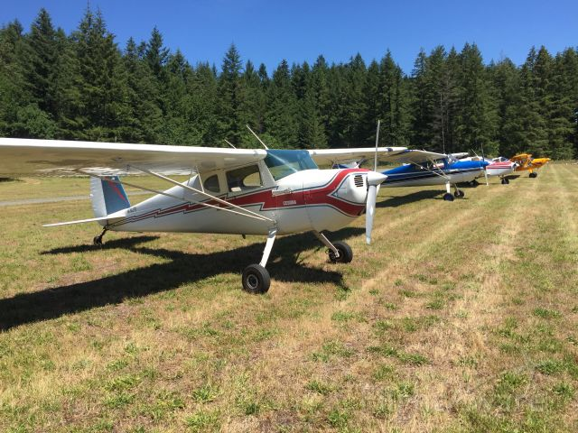 Cessna 120 (N76278) - 2016 Annual fly-in at Cougar Mountain Airport - grass strip