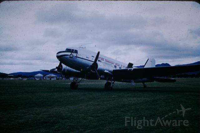 Douglas DC-3 — - Unidentified RAAF dakota at Flinders, circa 1956