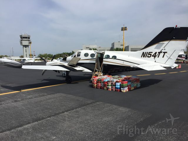 Cessna Chancellor (N154TT) - Christmas in Mexico Flight with Wings of Witness.  360 gifts delivered to the less fortunate.