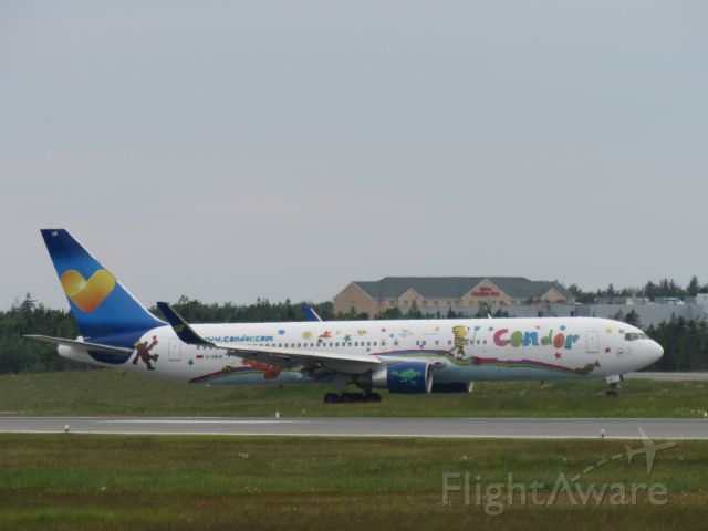 BOEING 767-300 (D-ABUE) - Heart for Children Special Livery