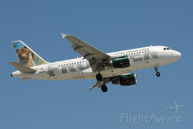 Airbus A319 (N931FR)