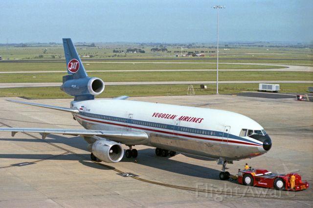 McDonnell Douglas DC-10 (YU-AMB) - Melbourne Tullamarine, November 1, 1981