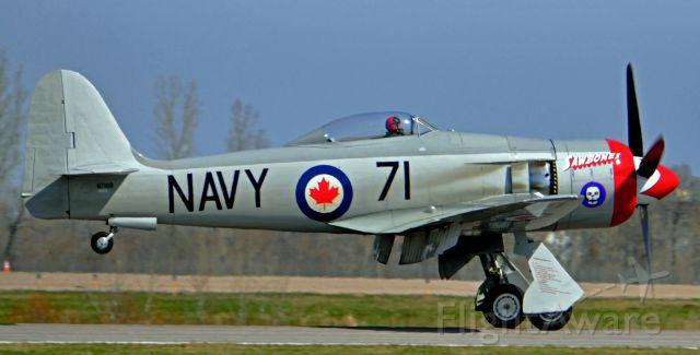 N71GB — - The sawbones race plane landing at Anoka Mn.