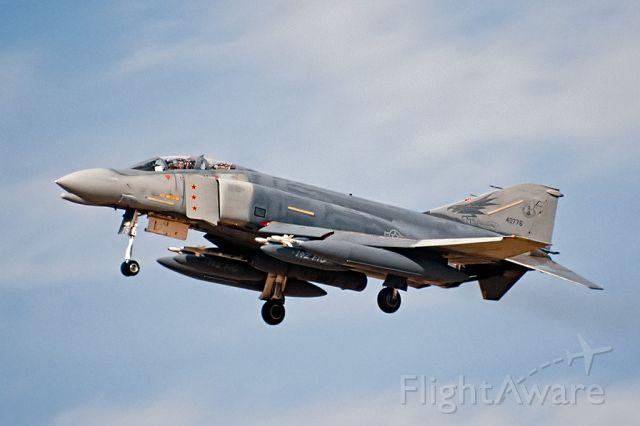 "McDonnell Douglas F-4 Phantom 2 (64-0776) - Triple MiG Killer ""Miss Piggy"" landing @ George AFB for the 1988 Open House"
