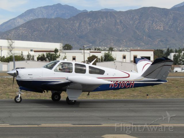 Beechcraft 35 Bonanza (N510CH) - Taxiing to RWY 8R