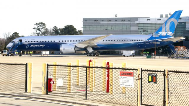Boeing 787-8 — - Roll-out of the 787-10 Dreamliner In Charleston, South Carolina.