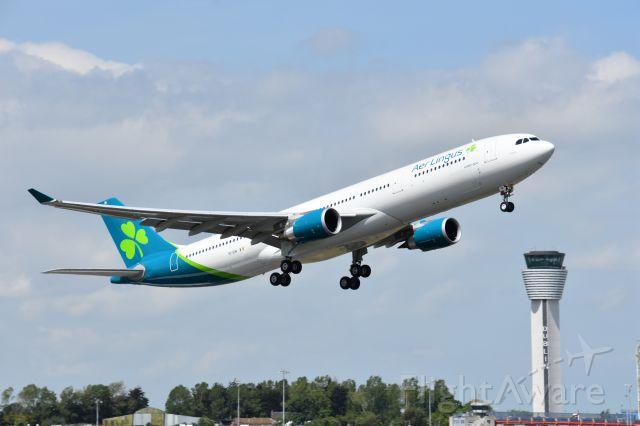 Airbus A330-300 (EI-EIN) - May 27, 2020 . EIN airborne off runway 10.