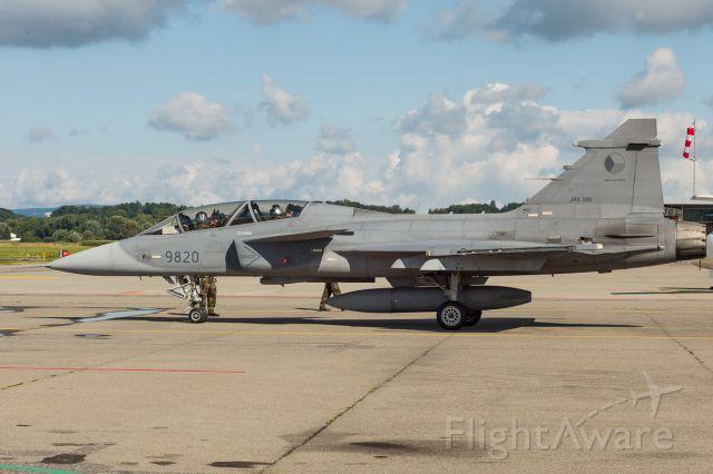 Saab JAS39 Gripen (N9820) - Czech Airforce