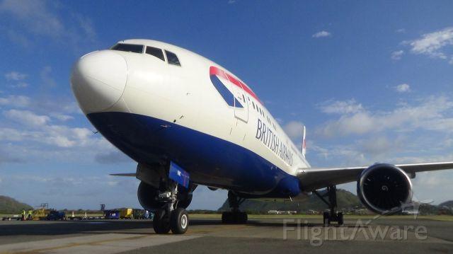 Boeing 777-200 (G-VIIK)