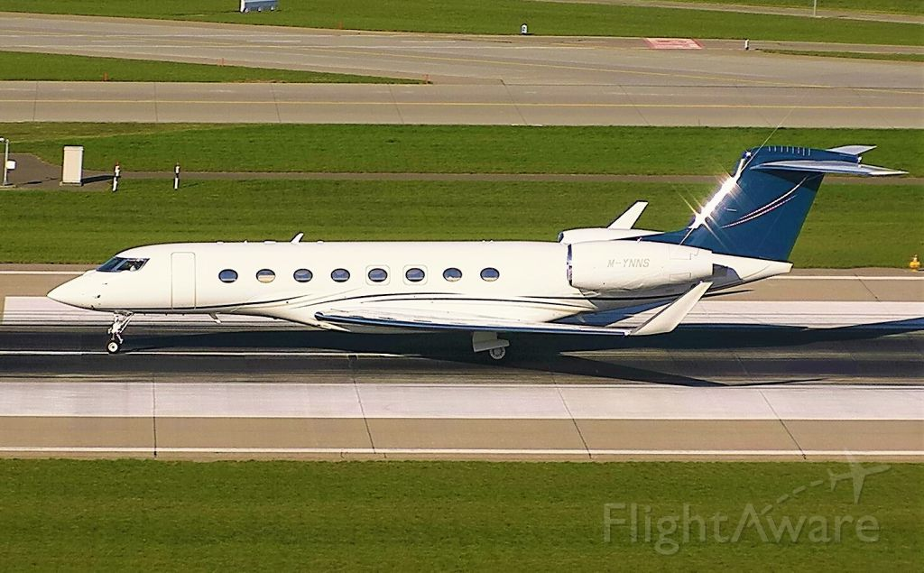 Gulfstream Aerospace Gulfstream G650 (M-YNNS)