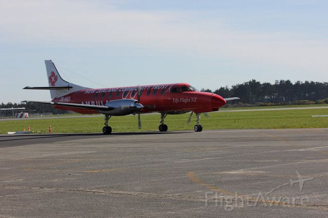 GLOSTER Meteor (ZK-NSS) - New Zealand Community Trust Air Ambulance arrives at Invercargill to pick and move to Auckland an injured person.