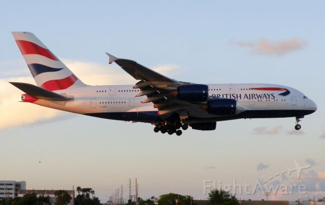 """Airbus A380-800 (G-XLEK) - The A380-800""""The Gentle Giant""""From Britain!"""""""
