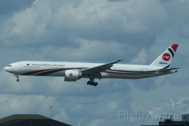 BOEING 777-300 (S2-AHM) - Biman Bangladesh B777-3E9ER cn40120