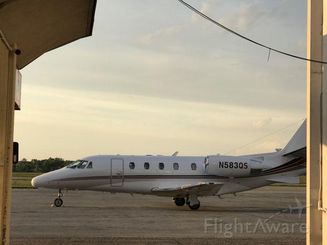 Cessna Citation Excel/XLS (N583QS) - Cessna Citation Just  Landed At JXN