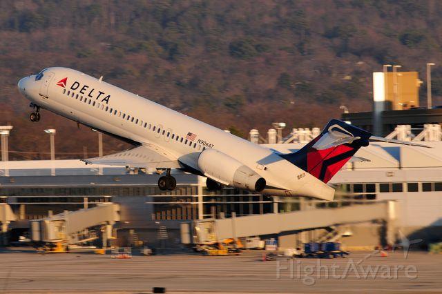 Boeing 717-200 (N906AT) - Sunset departure back to Atlanta