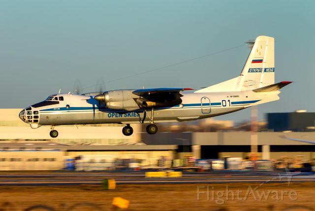 Antonov An-30 (RF-30083) - RF-30083 Russia - Air Force (Open Skies) Antonov An-30