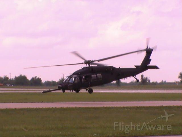 — — - Army Knight Hawk departing