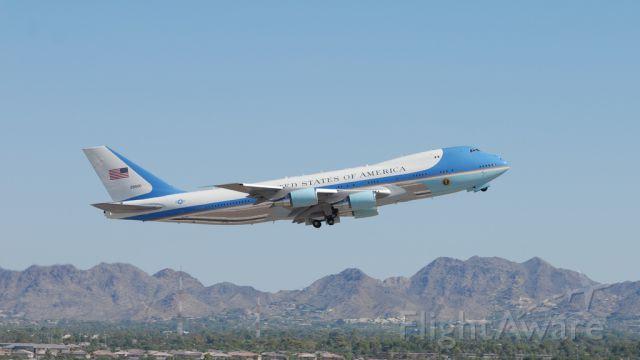 "Boeing 747-200 (N28000) - Boeing VC-25 ""Air Force One""    I"