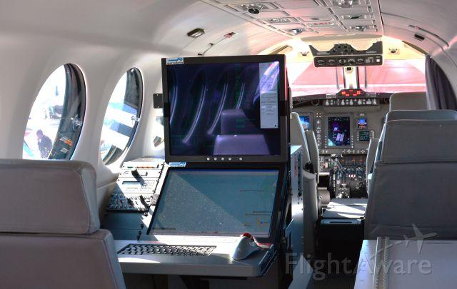 Beechcraft Super King Air 200 (N236MJ) - Beech King Air 200 SP Interior