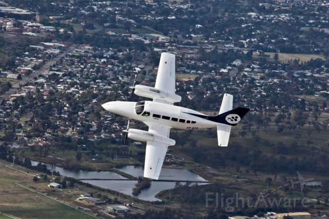 Cessna 404 Titan (VH-SZA) - One of two C404 Titan aircraft operated to & from Narrabri NSW