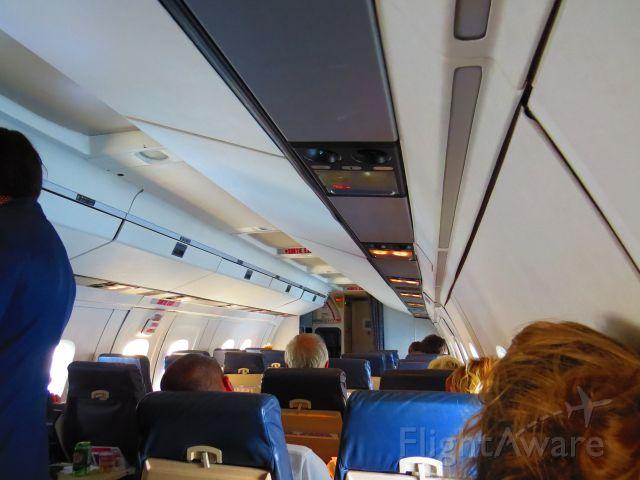 de Havilland Dash 8-100 (C-GONX) - inside CGONX