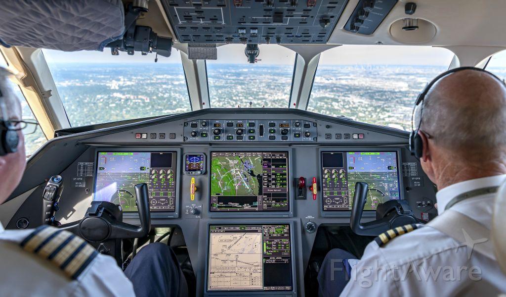 Dassault Falcon 900 (VP-BPW)