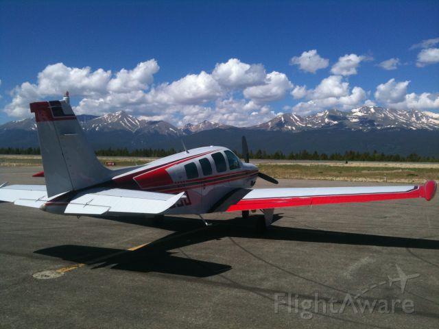 Beechcraft Bonanza (36) (N3803J) - Beautiful Day for a flight into Leadville, CO.