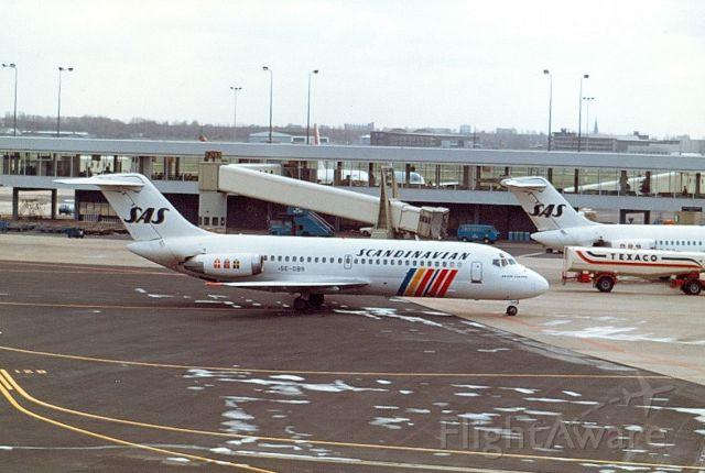 McDonnell Douglas DC-9-20 (SE-DBR) - SAS Dc9-21 cn47306 (Archief 80-90)