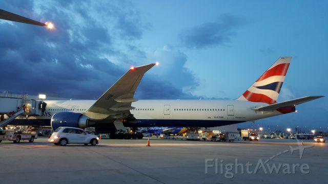 Boeing 777-200 (G-STBB)