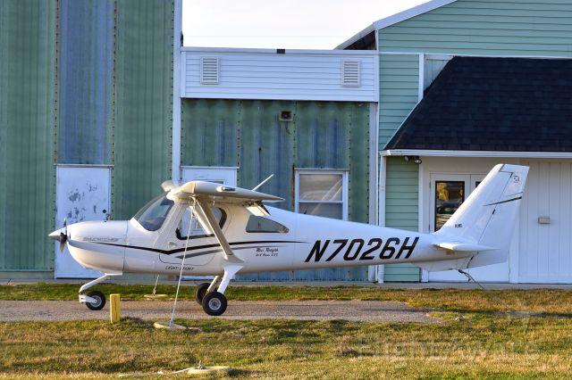 Cessna Skycatcher (N7026H) - Cessna 162 Skycatcher N7026H in Toledo Suburban