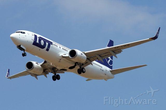 Boeing 737-800 (SP-LWB) - 15/06/2019: Flight from Gdansk landing on runway 12.